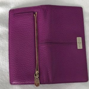 Cole Haan  purple wallet